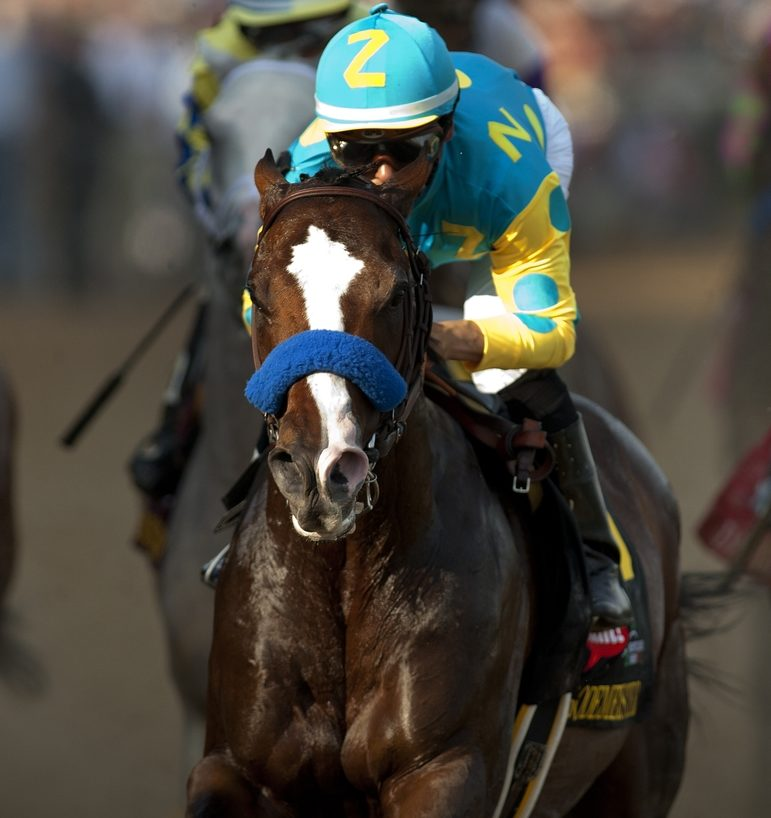 I'll Have Another with Mario Gutierrez wins the Kentucky Derby